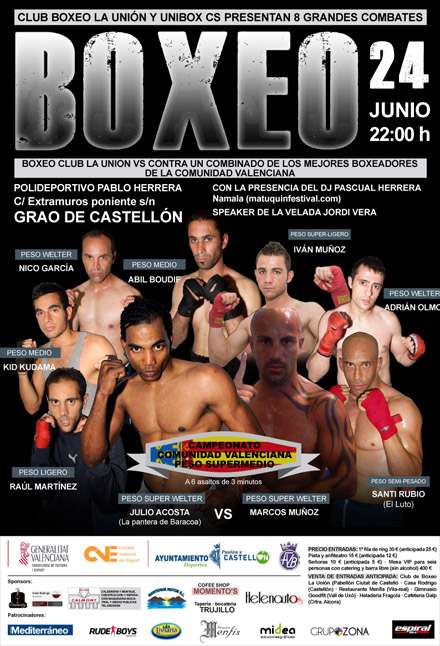 velada club de boxeo la union